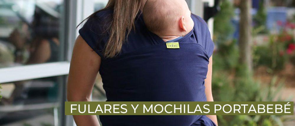 Mochilas portabebé tienda infantil ecológica